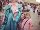 Jessica Alba vai com as filhas à Disney de Tóquio