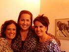 Claudia Jimenez assiste a show de Leila Pinheiro: 'Lindo!'