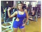 Babi Rossi posta foto na academia: 'Puxar ferro me faz bem'