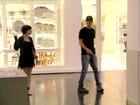 Ex-BBB Fael passeia com atriz de quem já recebeu declaração de amor