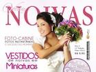Desirée Oliveira, a Mulata Difícil do 'Zorra', é capa de revista de noiva