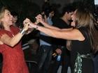 'Cissa é uma guerreira que eu admiro demais', diz Susana Vieira
