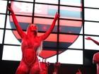 Popozuda antecipa torcida pelo Fla na semi do Carioca em show no RJ