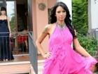 Ex-BBB Ariadna posa para revista 'Vogue' italiana