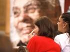 Familiares se reúnem em missa pelos 30 dias da morte de Chico Anysio