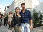 'Ficantes' no 'BBB 12', Renata e Jonas posam para revista
