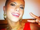 'Virei atração com a minha careca', diz Babi Rossi em programa de rádio