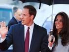 Príncipe William e Kate Middleton vão a pré-estreia em Londres
