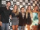 Ex-BBBs Kadu Parga e Mayra Cardi vão a evento em Cuiabá