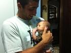 Marido de Luana Piovani posta foto com bebê: 'Meu sobrinho'