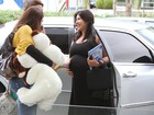 Chegou a hora! Priscila Pires dá entrada na maternidade para dar à luz