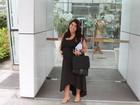 Após dar à luz no dia 28, ex-BBB Priscila diz ter emagrecido 12 quilos