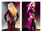 Mayra Cardi exibe curvas com roupa coladinha em foto no twitter