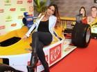 Sabrina Sato, Adriane Galisteu e mais famosos vão a corrida da Fórmula Indy