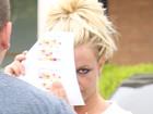 Britney Spears evita ser fotografada em Los Angeles