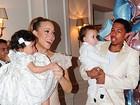 Mariah Carey comemora o aniversário dos filhos em Paris