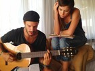 Ex-'Fama' Daniel Chaudon fala sobre parceria com Alinne Moraes em CD