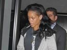 Abatida, Rihanna deixa hotel um dia após noitada em clube de strip tease