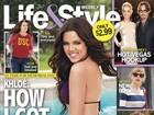 Irmã de Kim Kardashian perde 9 kg e mostra resultado em revista