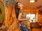Após 12 anos como modelo, filha de Datena estreia como apresentadora