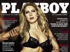 Ex-BBB Renatinha é agarrada por várias mãos na capa da 'Playboy'