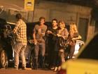 Murilo Benício e Nathalia Dill, entre outros, curtem festa de 'Avenida Brasil'