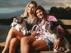 'Sempre trocamos ideias', diz Flávia Alessandra sobre a filha Giulia