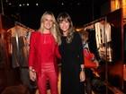Fiorella Mattheis, Thaila Ayala e Juliana Didone, entre outras, vão a inauguração de loja