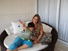 Deixei de viver minha vida para viver  a dele, diz Mayra Cardi sobre filho