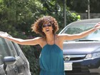Halle Berry se estressa com paparazzi em Los Angeles