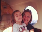 Boa notícia: Luiza Valdetaro comemora saúde da filha