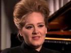 Adele diz, em entrevista à TV, que não quer ninguém falando dela