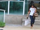 Em pleno sabadão, Juliana Paes vai a academia no Rio