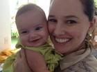 Veja foto exclusiva de filha de Mariana Belém