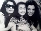 Giovanna Lancellotti posta foto com a mãe e a irmã mais nova