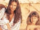 Yasmin Brunet publica foto antiga com Luiza e deseja feliz Dia das Mães