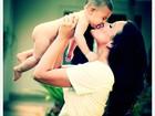 Juliana Knust posta foto com o filho e deseja um feliz Dias da Mães