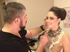 De rendado, Fernanda Vasconcellos se prepara para premiação