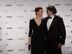 Nada de crise: Alexandre Borges e Júlia Lemmertz vão juntos a prêmio