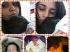 Perlla publica várias fotos de sua filha: 'Minha companheira'