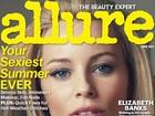 Elizabeth Banks a revista: 'Não é bom colocar o meu peso. É muito pouco'
