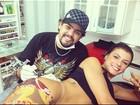 Tatuagem no bumbum de Babi Rossi significa ' liberdade, mulher guerreira'