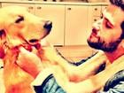 Giovanna Ewbank acha cachorro abandonado e posta foto no Twitter