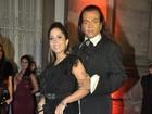 Mulher Melão no casamento de Belo: 'Preciso desencalhar'
