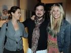 Adriane Galisteu se encontra com Guilhermina Guinle em restaurante