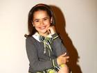 Apresentadora Maísa dá adeus aos cachinhos para atuar em 'Carrossel'