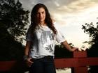 Aos 13 anos, Lívia Aragão quer seguir a carreira de atriz longe do pai