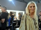 Top Aline Weber fala sobre rotina das modelos antes dos desfiles