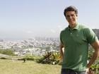 'Está batendo saudade das novelas', diz o agora grisalho Márcio Garcia
