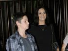 Luiza Brunet comemora aniversário de 50 anos com o filho